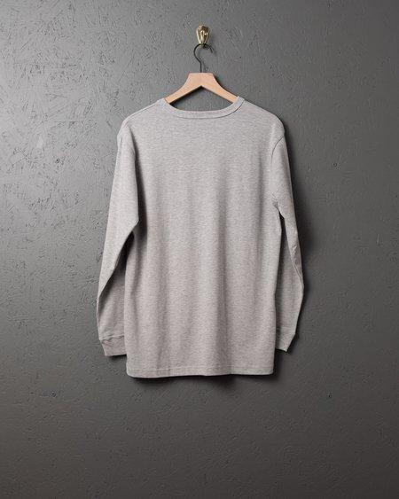 3sixteen LS Heavyweight Henley T-Shirt