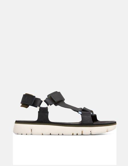 Camper Oruga Trekker Sandal - Black Leather