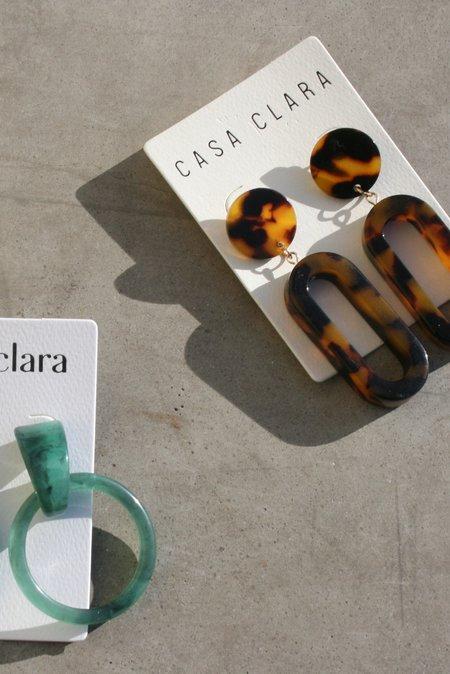 CASA CLARA Milly & Dia Earring Set - Jade/Torte