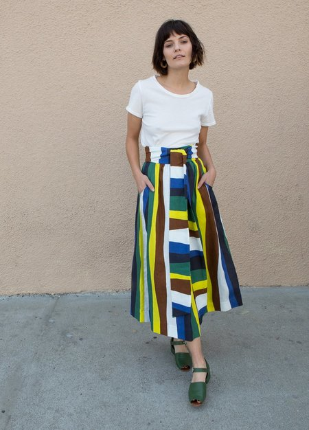 Whit Kimani Skirt - Blue Multi