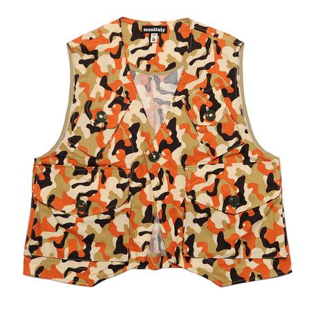 Monitaly Military Cotton Vest Type C - Camo Print