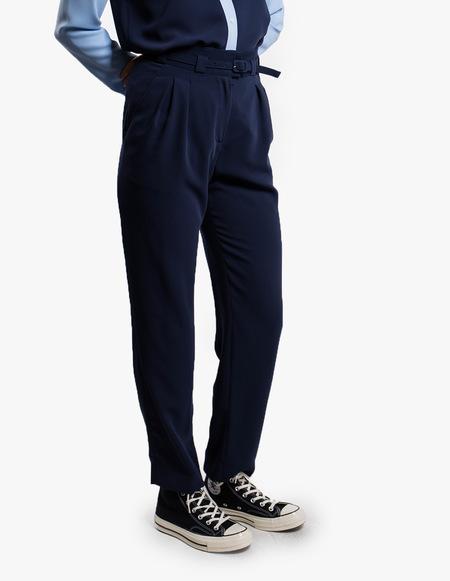 A.P.C. Pantalon Joan - Dark Navy