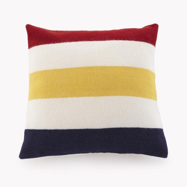 Revival Stripe Wool Pillow
