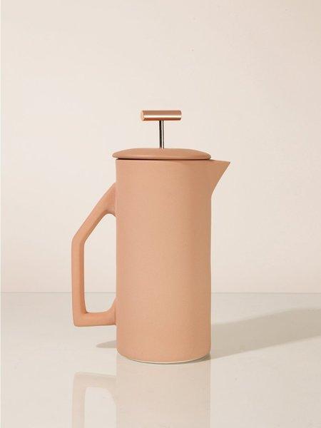 Yield Ceramic 850ml French Press - Matte Sand