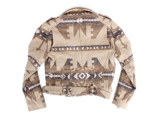 Capulet Shearling Collar Moto Jacket