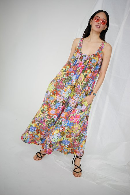 WHiT Ann Dress - Laughing Flowers Print