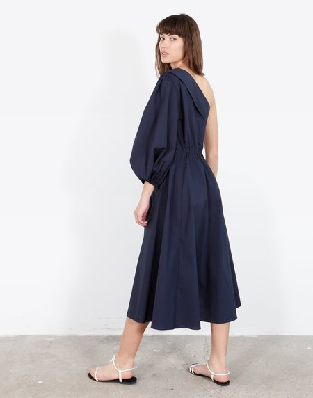 WHiT Paige Dress - Navy