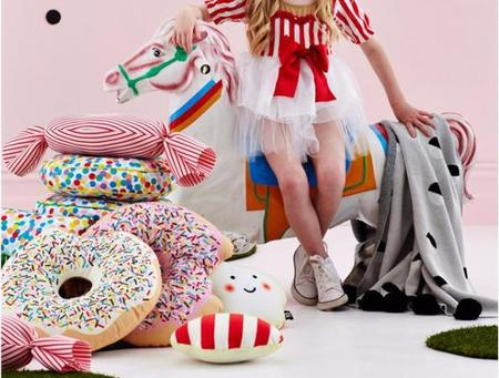 Kids SACK ME Krispy Dreme Donut Pillow