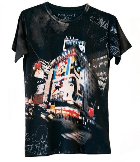 Unisex Made in Me 8 Bang Bang T-shirt - Black/Multi