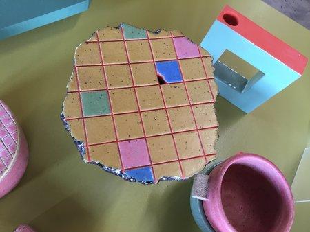 Eunbi Ceramics Tiled Ikebana Vase