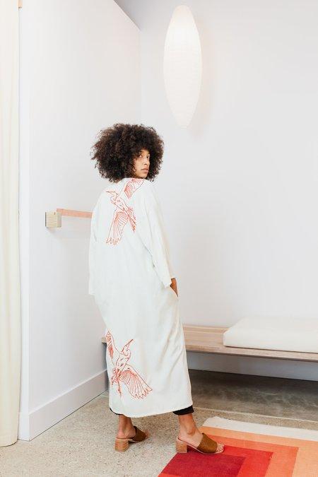 Miranda Bennett x Ft. Lonesome Silk Noil Bardi Duster - Natural V.II