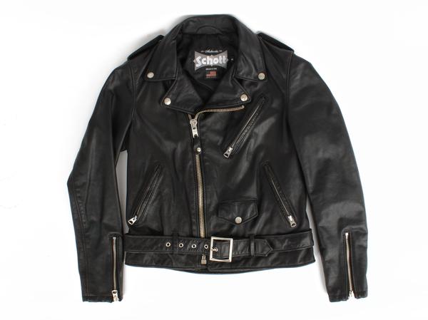 Schott Women's Vintaged Cowhide Motorcycle Jacket