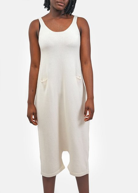 Lauren Manoogian Playa Suit - Raw White