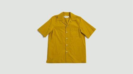Marni Cotton Poplin Shirt - Mustard