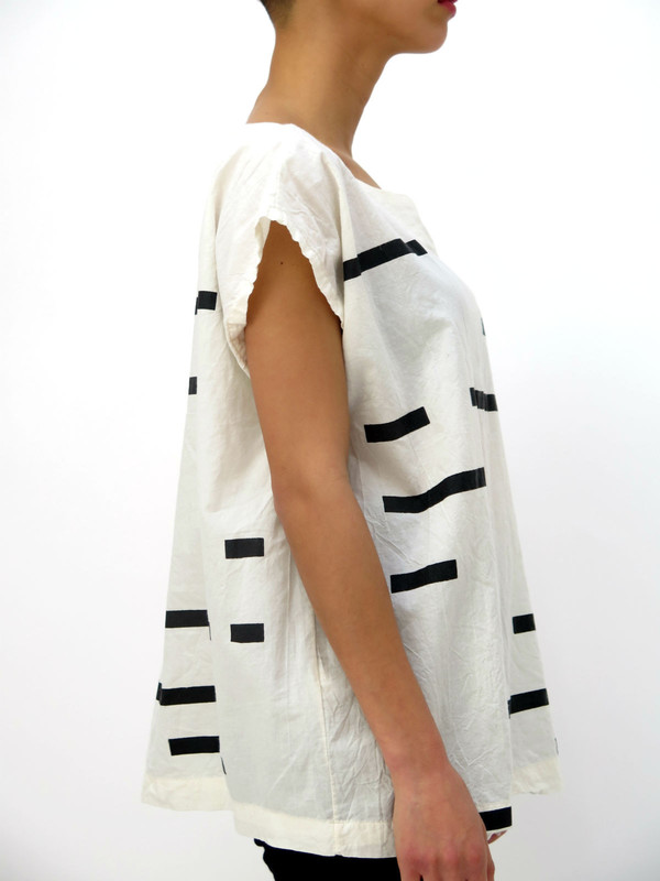 Uzi Broken Stripe Tunic