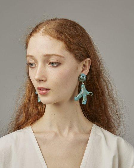 Valet Noemie Earrings - Turquoise