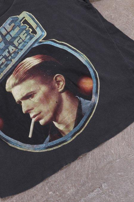 UNISEX MadeWorn Bowie on Stage - Black Pigment
