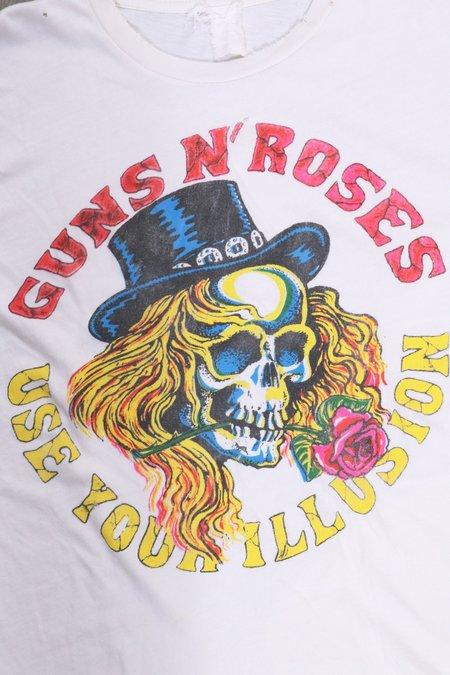 UNISEX MadeWorn Guns N' Roses Use Your Illusion - Off White