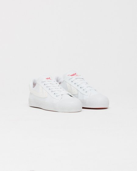 Warrior WB1 Shoes - White/White