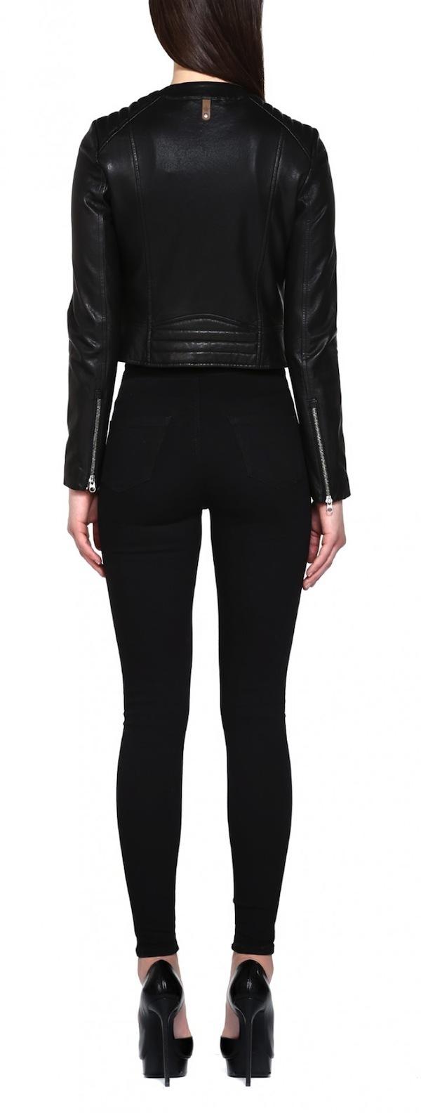 Mackage Misha Cropped Leather Jacket