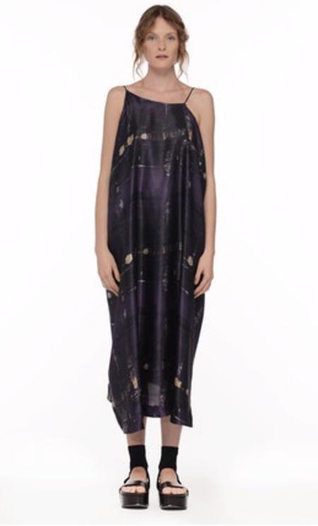 Isabel Benenato Printed Strap Dress