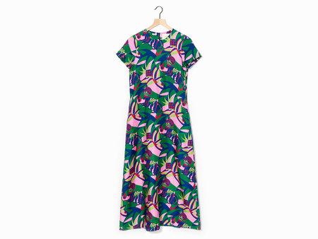 La Double J Swing Dress - Blu
