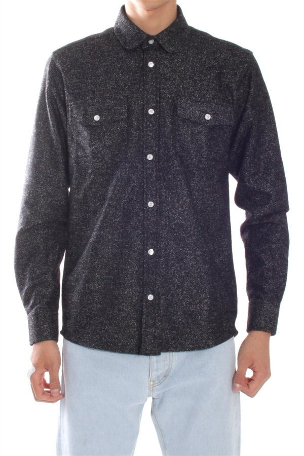 Men's Soulland Tom Shirt Black