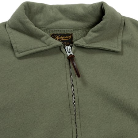 National Athletic Goods Full Zip Campus - Army Fade