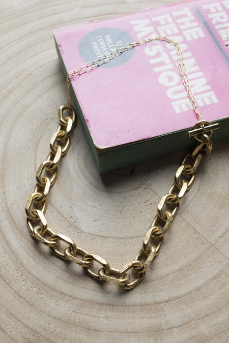 Maslo Chain Necklace - GOLD