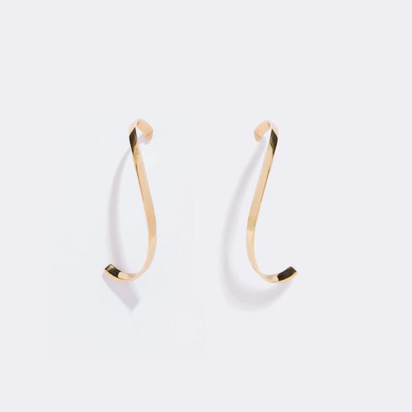 Metalepsis Projects Mobius Earrings