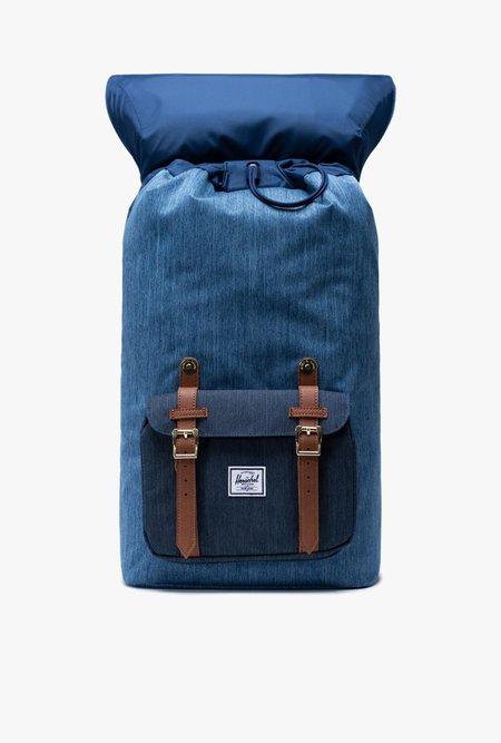 11478d32e1b HERSCHEL SUPPLY CO Little America Backpack - Faded Indigo Denim ...