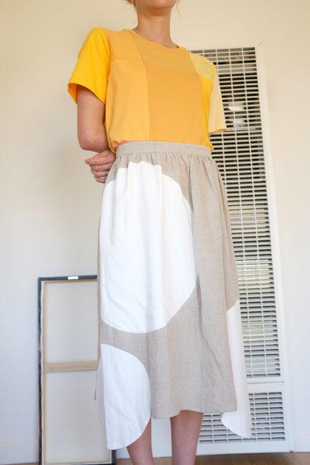 Correll Correll Olka Skirt - Linen Grey