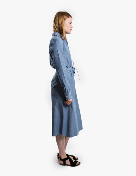 A.P.C. Robe Karen - blue