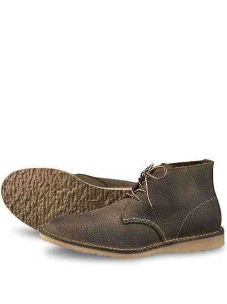 Redwing Shoes Weekender Chukka Boot - Olive Brown