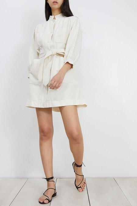 13b9e377f90 Apiece Apart Aragon Mini Dress - Cream ...