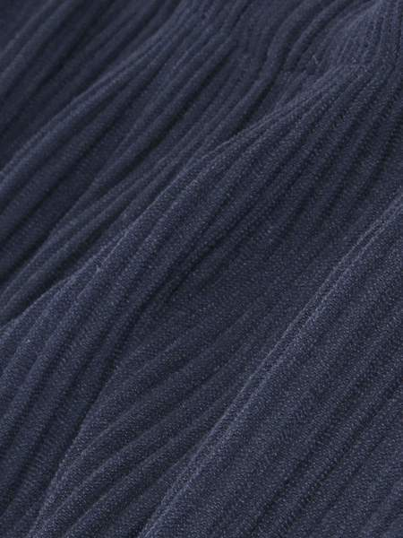 Issey Miyake Homme Plisse Dropped Crotch Pant - Navy