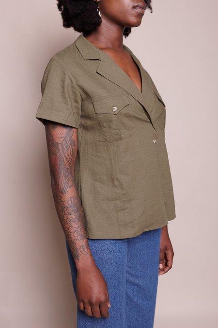 Steven Alan Safari Shirt - Olive