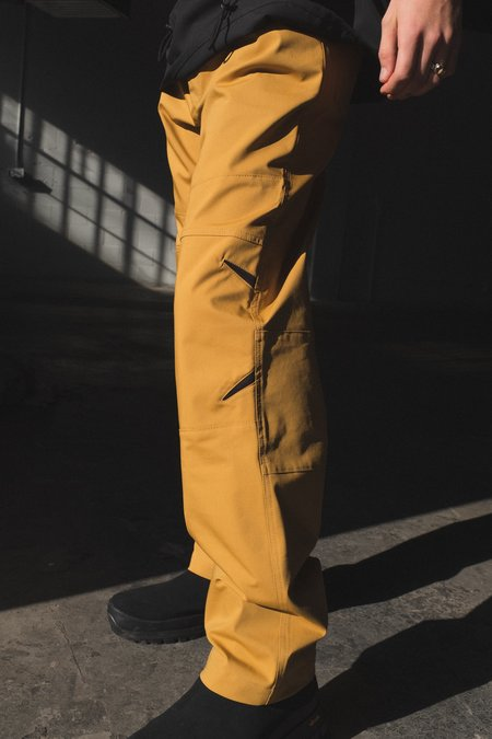 Mackintosh 0004 Technical Reinforced Knee Trousers - Mustard
