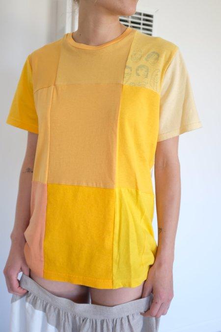Unisex Correll Correll Mono Recycled T-Shirt - Yellow