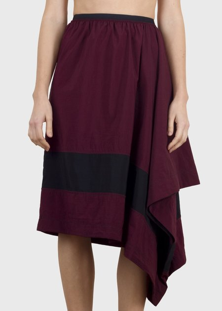complexgeometries divide skirt - wine