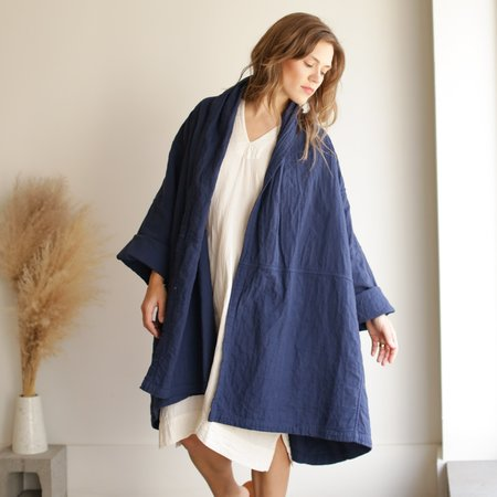 Atelier Delphine Haori Coat - Midnight