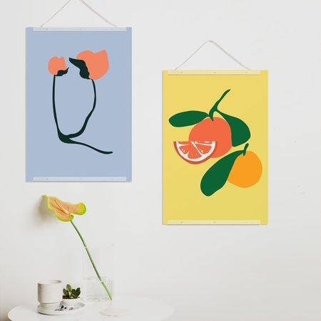 Poketo Poppy Print