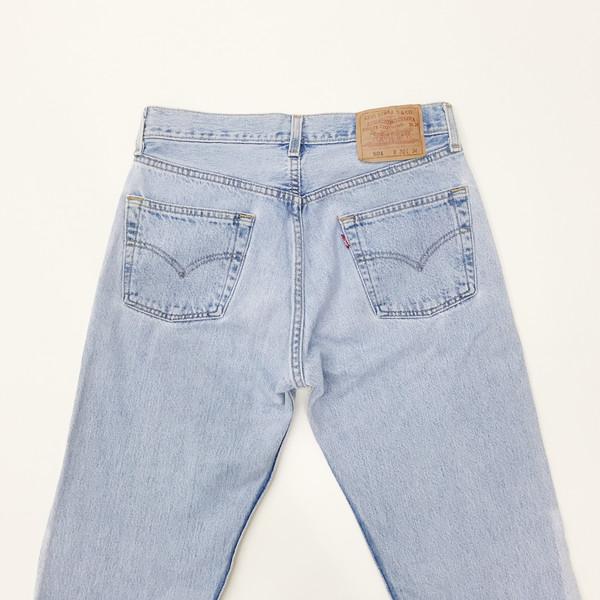 B Sides Jeans - Levi's 501 Patchwork Denim Jeans