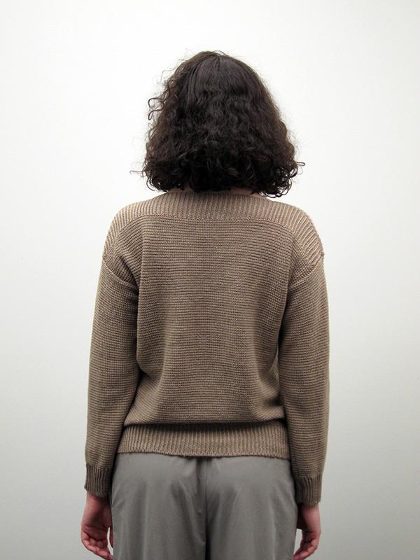 CristaSeya Linen Boat Neck Sweater