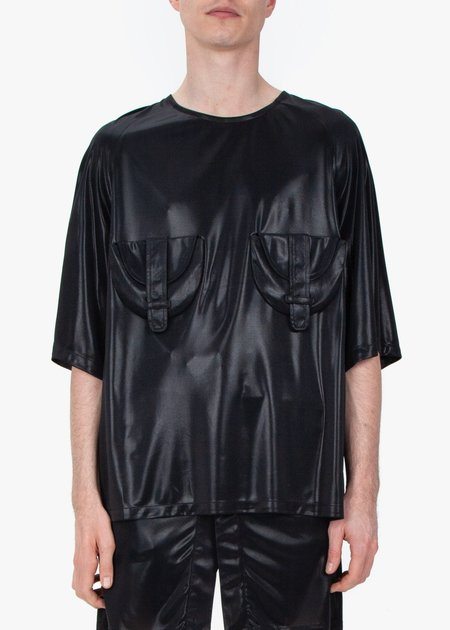 fomme T-Shirt - Shiny Black