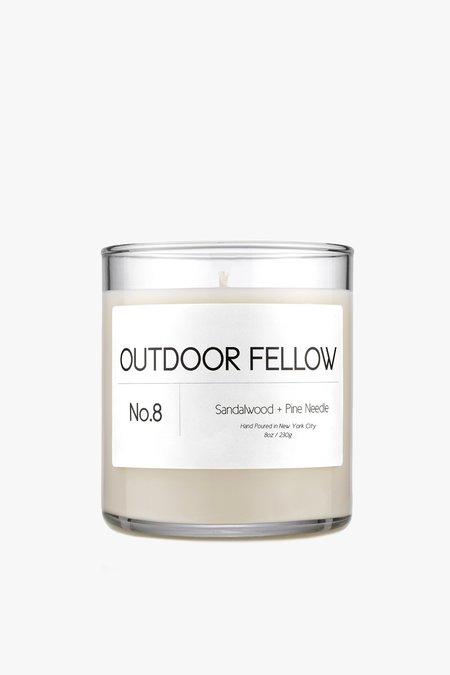 Outdoor Fellow NO.8 Sandalwood+Pine Needle Candle