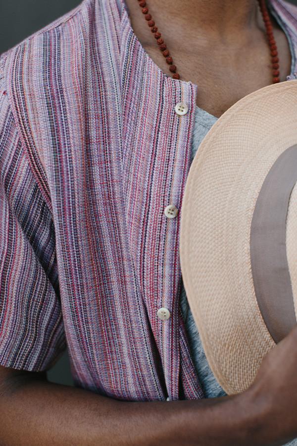 Men's New Market Goods Batil Button-down Shirt