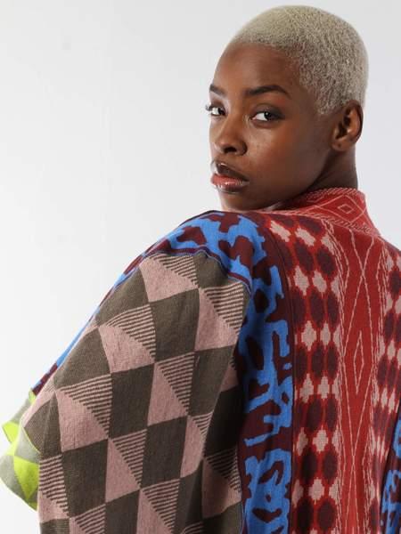 unisex Bernhard Willhelm Kimono Sweater - Multi-color