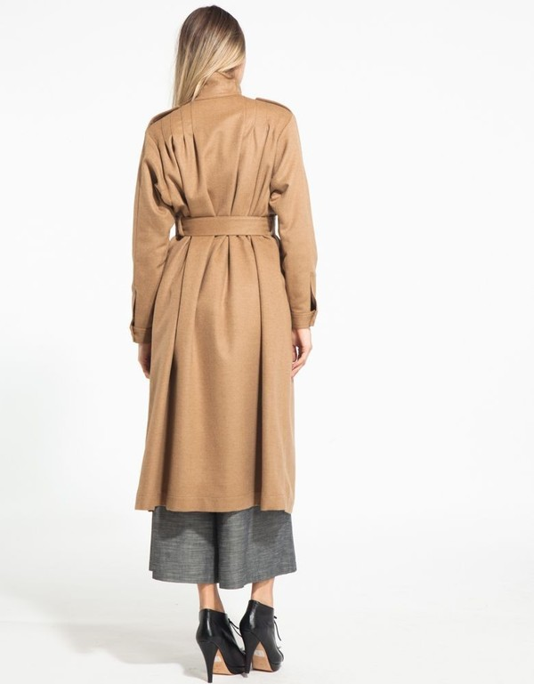 Rodebjer Odessa Camel Coat