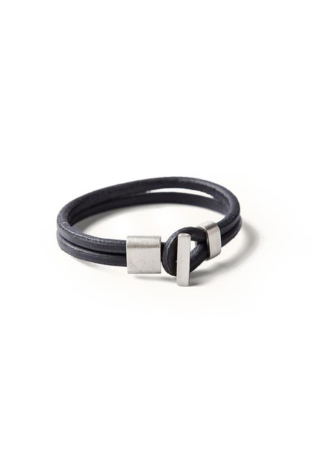 TANNER GOODS Premium Wristband - Silver